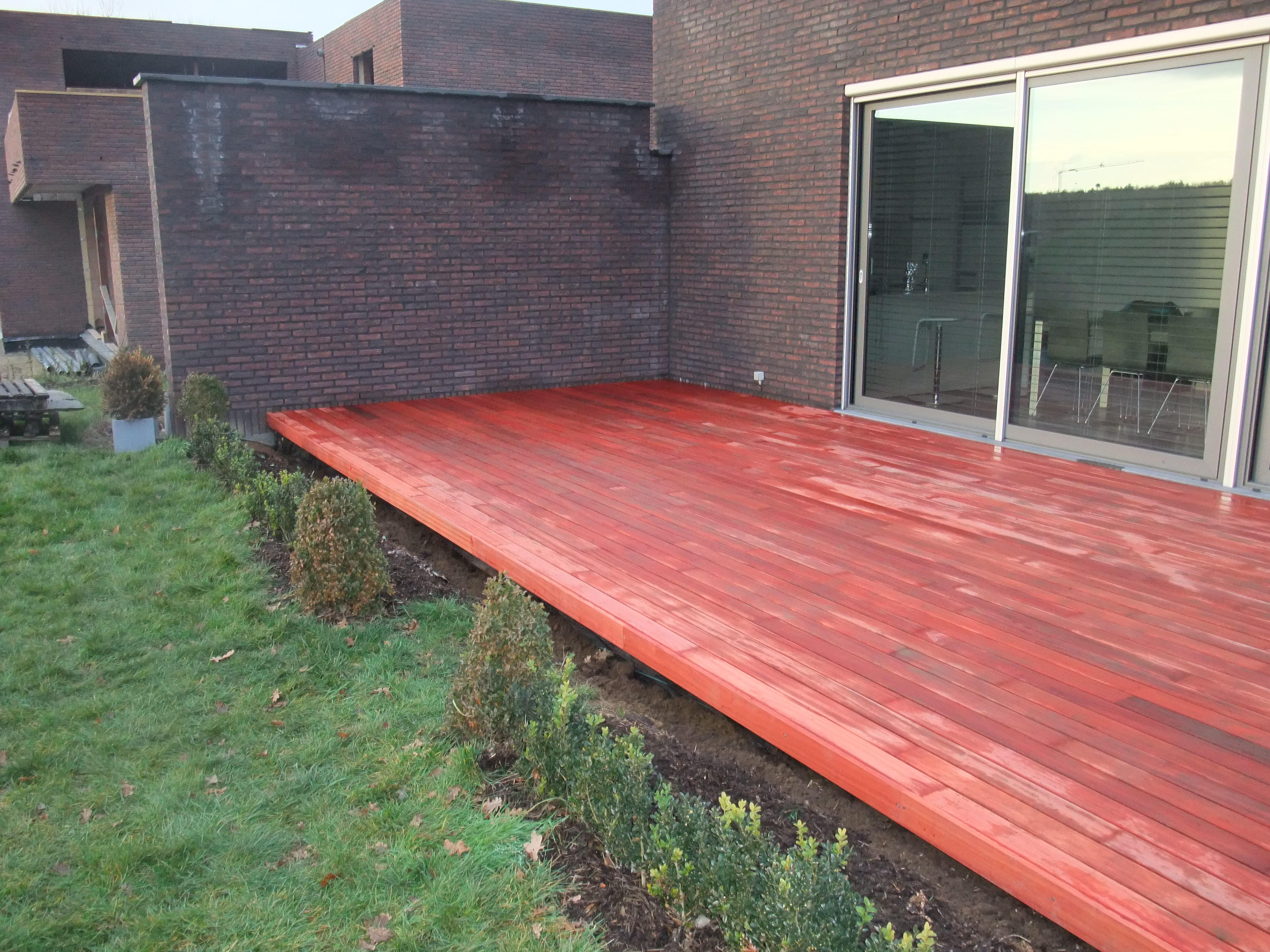 Hout - Zwembad terras hout photo ...